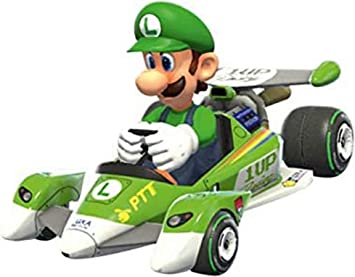 Caja Coche Pull Speed Mario Kart 8 Nintendo Circuit Special Luigi: Amazon.es: Juguetes y juegos