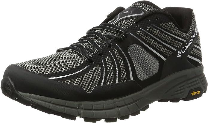 Columbia Mojave Trail Outdry, Zapatillas de Running para Asfalto para Hombre, Negro (Black/White), 47 EU: Amazon.es: Zapatos y complementos