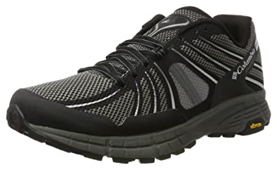 Columbia Mojave Trail Outdry Trail Running Shoes UK 11 Black White d6eba714816