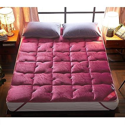 Amazoncom Nclon Single Double Bed Mattress Toppermoisture
