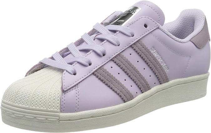 adidas Superstar W, Zapatillas para Mujer, Tinte Púrpura ...