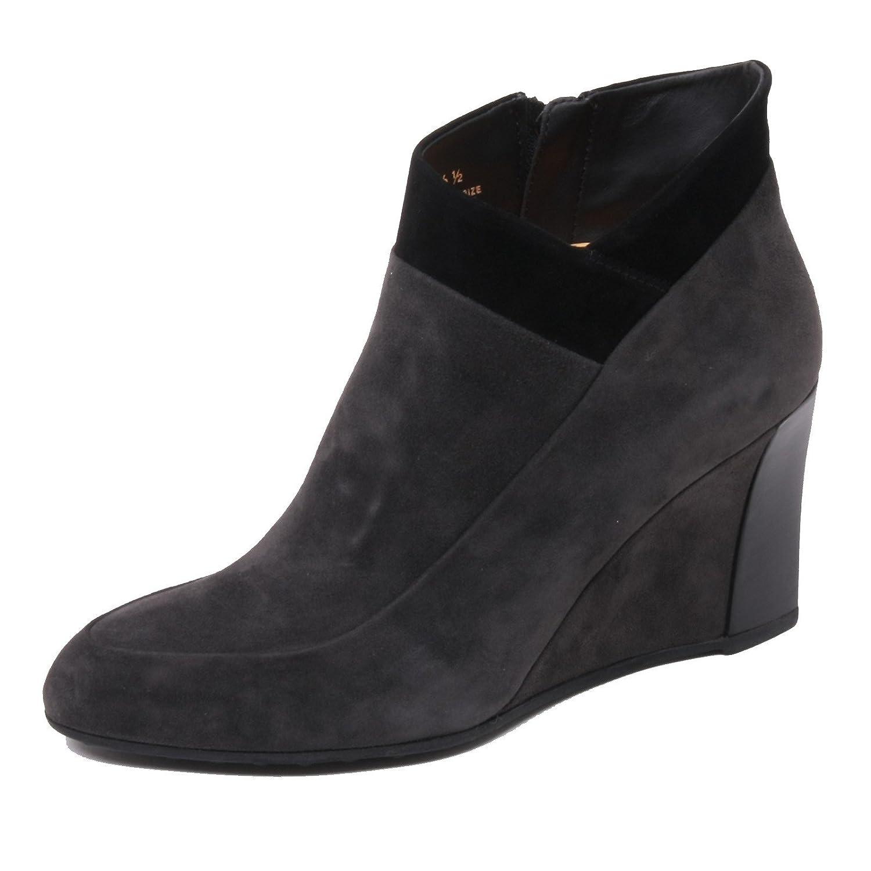 Tod's B4820 Tronchetto damen T75 Scarpa Zeppa grau schwarz Ankle Stiefel schuhe Woman