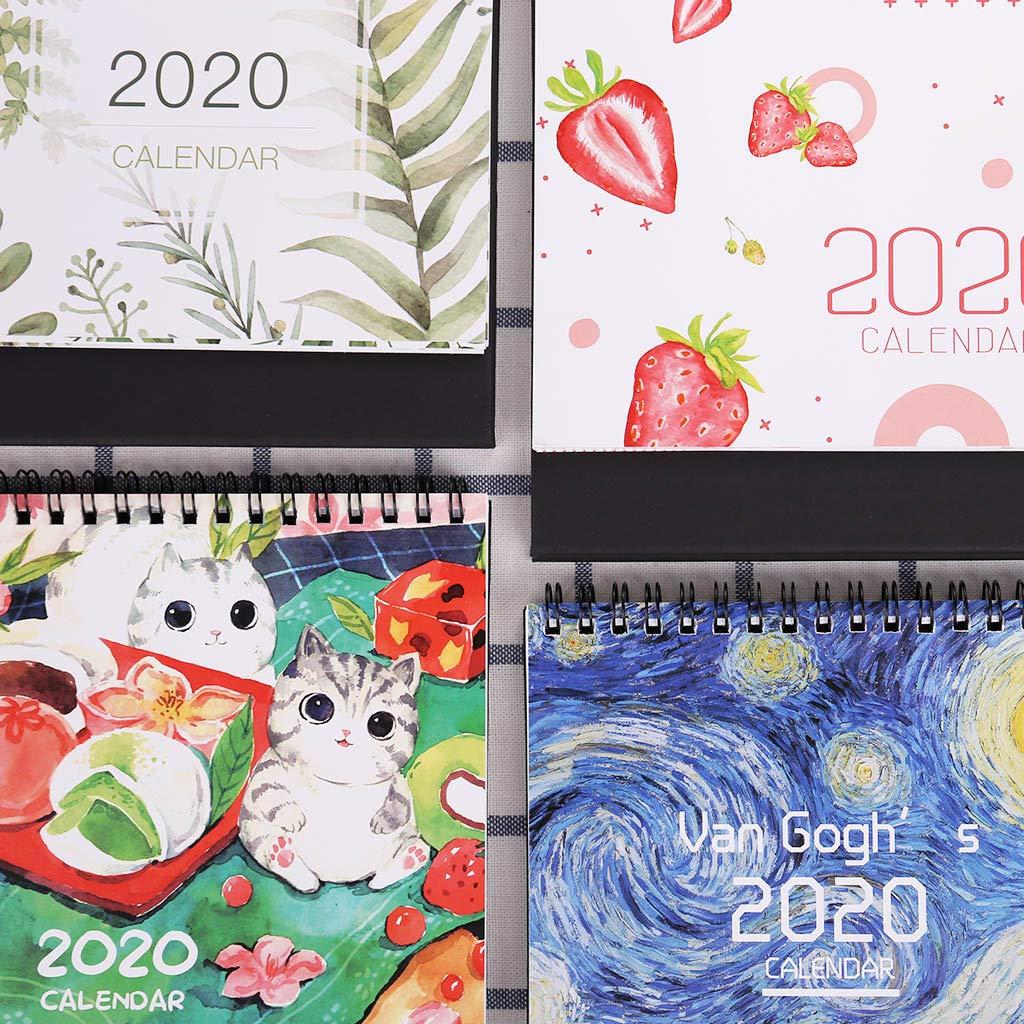 LLLucky 2020 Patrón de Colores Papel de Escritorio Papel de ...