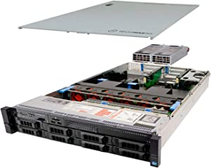 TechMikeNY Server 2X E5-2680 2.70Ghz 16-Core 192GB 8X 2TB H710 PowerEdge R720 (Renewed)