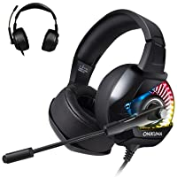 Amazon.com deals on TUSBIKO Gaming Over Ear Wired Headset