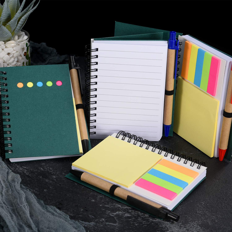"Block Print Pocket Size! 3.5/"" Spiral Kids Notebook 12 Pack"
