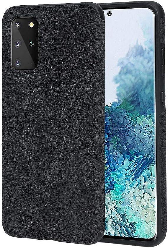 Arrivly Cover For Samsung Black Suede Case Mobile Elektronik