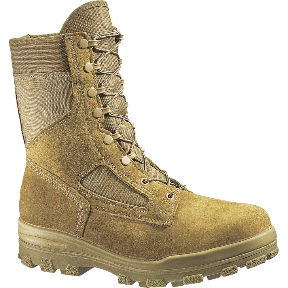 Bates Women's DuraShocks Steel Toe Boot (4 M in Olive Mojave)