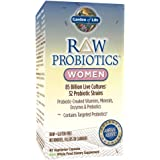 Garden of Life Whole Food Probiotic for Women - Raw Probiotics Women Dietary Supplement, 90 Vegetarian Capsules