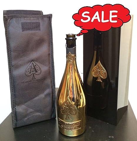 Amazon com: ACE OF SPADES 750ML EMPTY!! (Armand de Brignac