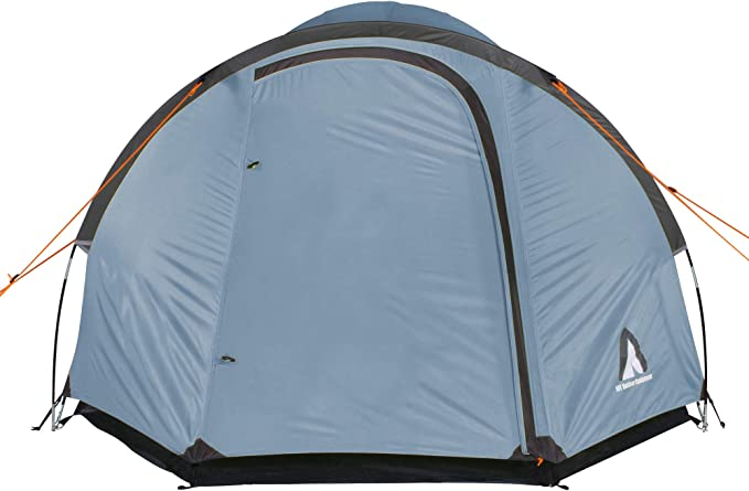 10T Zelt Scone für 3 oder 4 Personen & div. Farben zur Wahl, Kuppelzelt mit Vorbau, 5000mm Campingzelt, wasserdichtes Iglu Zelt, kompaktes
