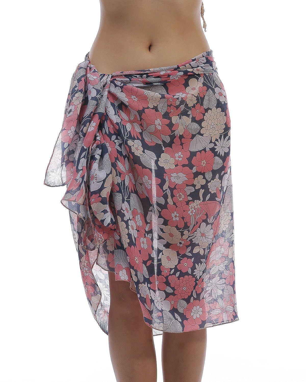7497727c55 YOEYEA Sarongs for Women Hawaiian Bali Beach Sarong Swim Wrap Pareo Batik  Bathing Suit Coverup at Amazon Women's Clothing store:
