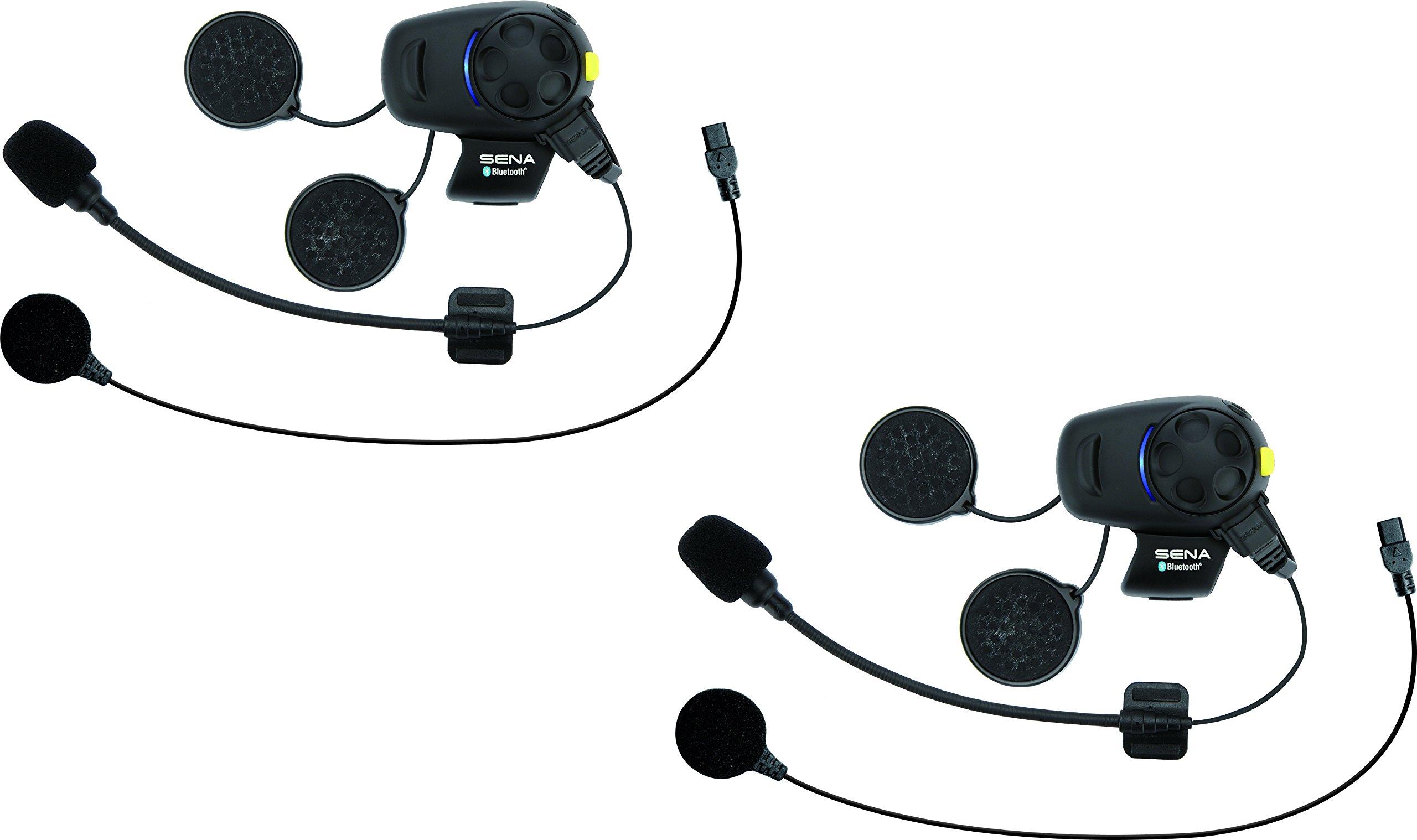 Sena Technologies SMH5-FM-UNIV Dual Universal Microphone w/FM Bluetooth Communication System,