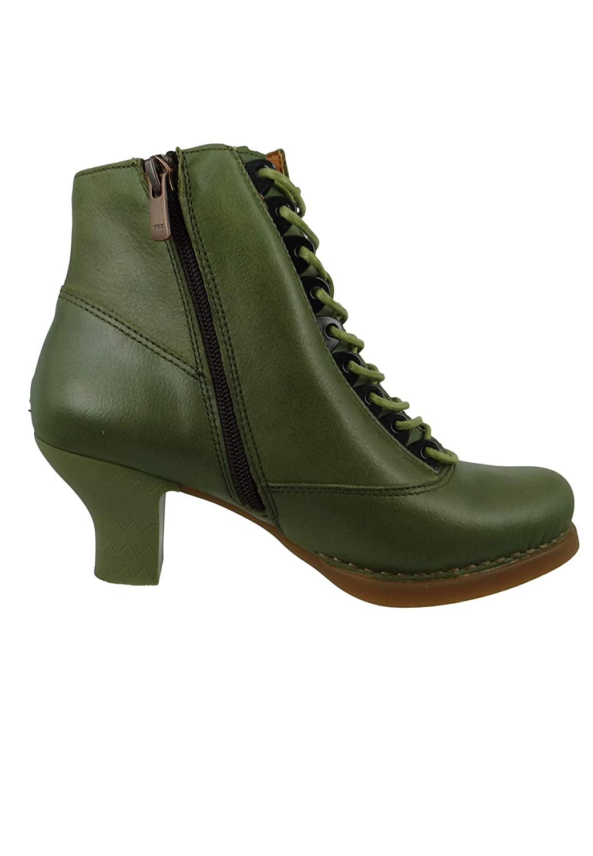 ART Leder Schnür-Stiefelette Ankle Ankle Ankle Stiefel Harlem Kaki Grün 0927 b89889