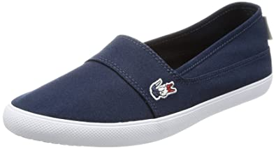 Lacoste Marice 317 French Flag Logo Damen Plimsole Navy - 4 UK