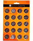 EmazingLights CR 2032 Batteries (20 Pack) 3 Volt Button Cell Lithium