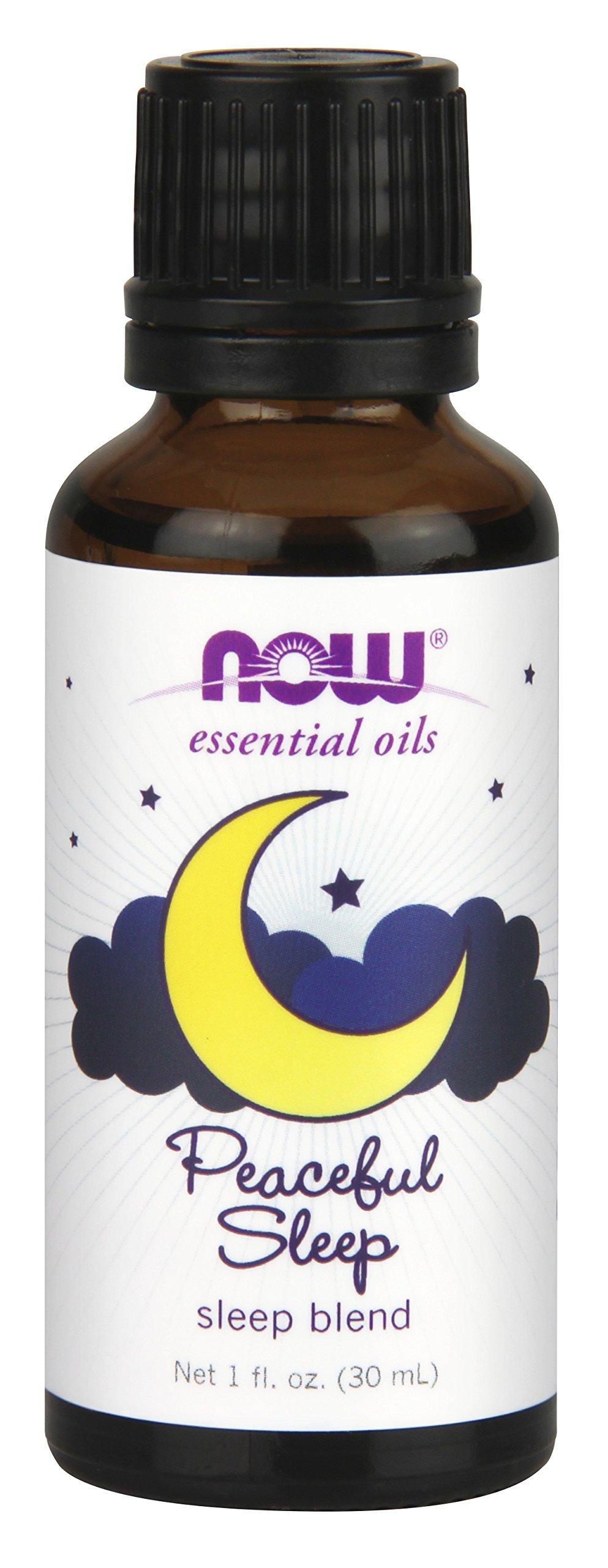 NOW Peaceful Sleep Oil Blend, 1-Ounce
