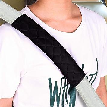 Schulterkissen Gurtpolster Sicherheitsgurt Schulterpolster Auto Sicherheitsgurt Gurtschutz Auto Sicherheits Gurtpolster Premium f/ür Kinder Erwachsene 2 St/ücke