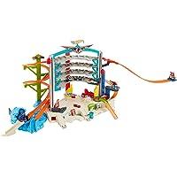 Hot Wheels Megagaraje, garaje para coches de juguete
