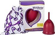 Violeta Cup Coletor Menstrual Vermelho Tipo B, Violeta Cup, Vermelho, Tipo B Mulheres Com Até 29 Anos E Sem Filhos, E/Ou Com