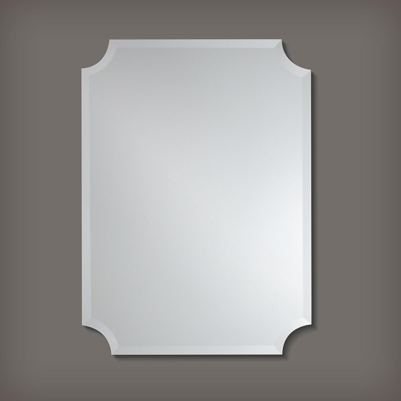 Amazon.com: The Better Bevel Frameless Rectangle Wall Mirror ...