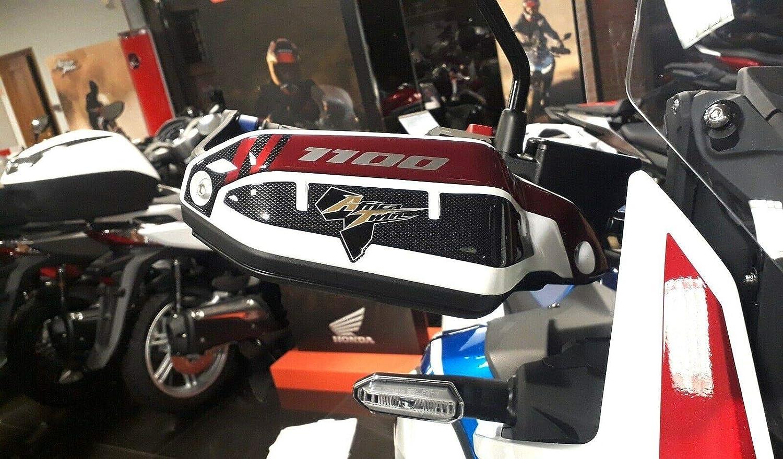 KIT ADESIVI 3D per PARAMANI MOTO compatibili HONDA AFRICA TWIN ADVENTURE 1100 L
