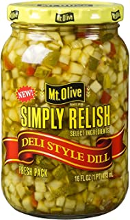 product image for Mt. Olive Simply Relish Deli Style Dill 16 fl (Pack of 2)