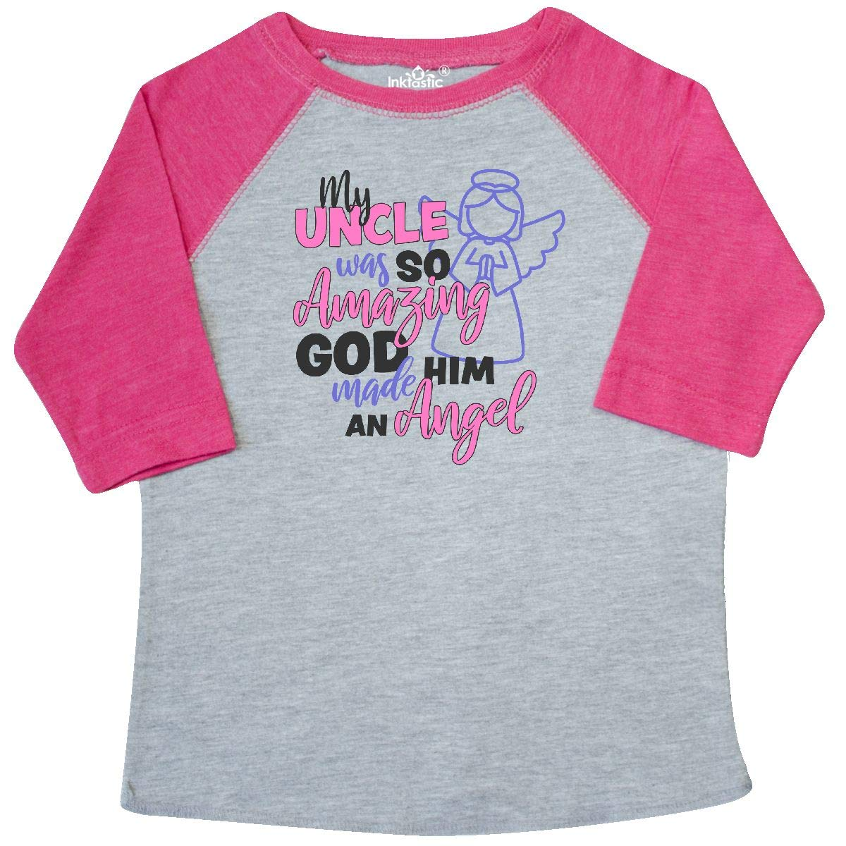 inktastic My Uncle was So Amazing God Made Him an Angel Toddler T-Shirt