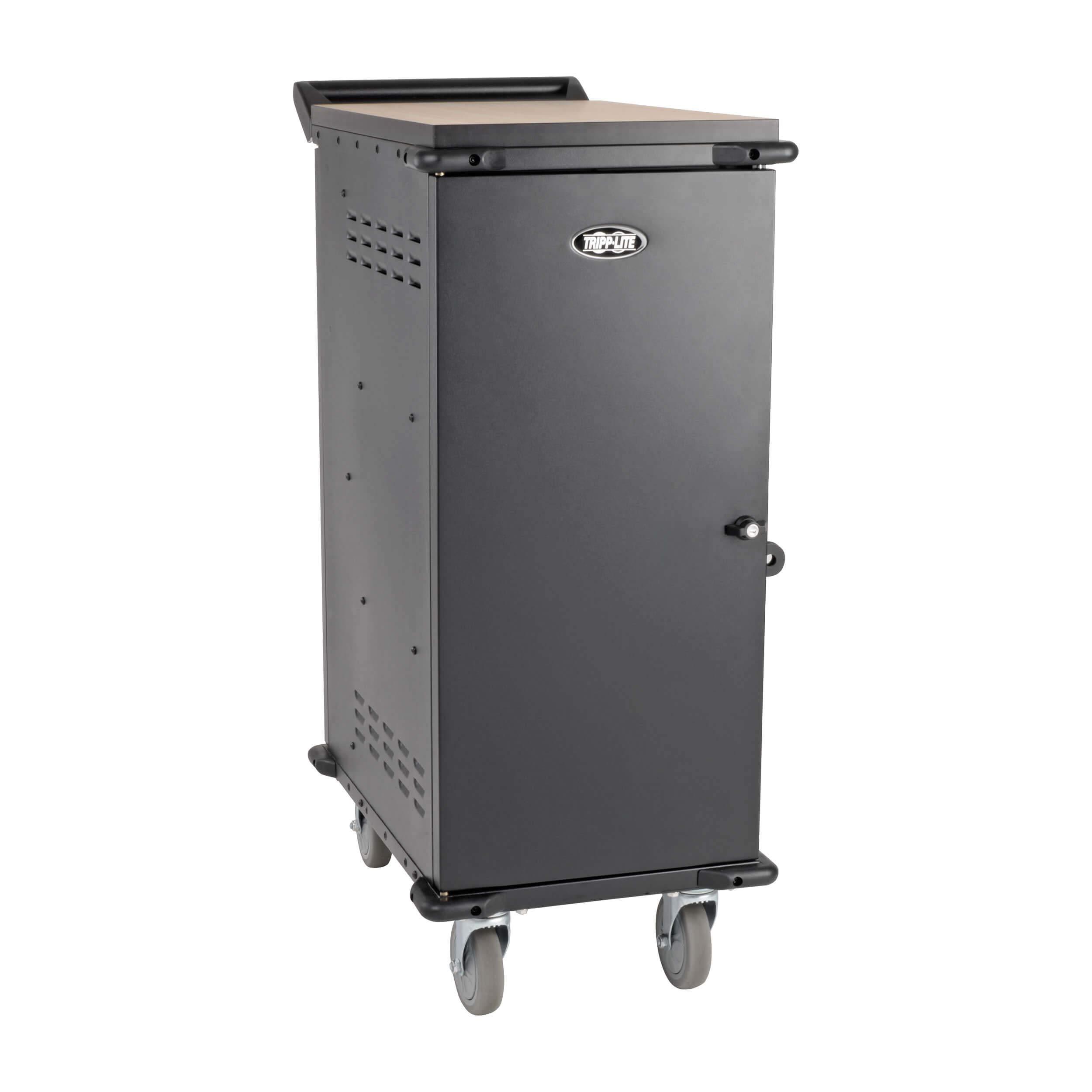 Tripp Lite 27-Port AC Mobile Charging Cart Storage Station for Chromebooks, iPads, Laptops, Tablets, Black (CSC27AC) by Tripp Lite (Image #9)