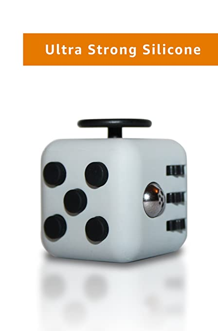 Ultra Strong Fidget Cube By Wedual Made Of High End Silicone Available In