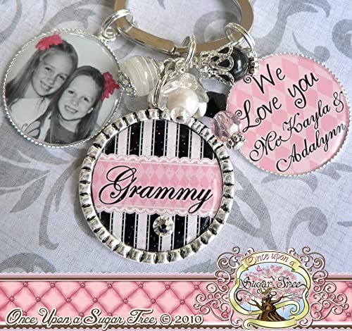 I love you Grandma keyring