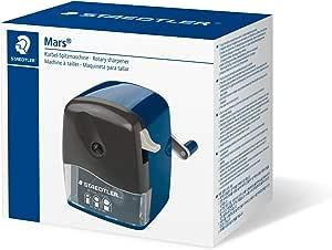 STAEDTLER 501 180 ST Manivela Sacapuntas con ajustable puntiaguda Cono: Amazon.es: Oficina y papelería