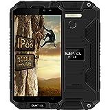 Oukitel K10000 Max - 5.5 Pouces Androïd 7.0 IP68 Étanche Antichoc Anti Poussière Outdoor Téléphone Débloqué 4G 10000mAh Grand Capacité MTK6753 Octa Core 3Go RAM 32Go ROM 16MP Appareil Photo FHD Dual (Noir)