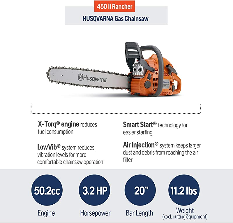husqvarna 450 vs 450 rancher