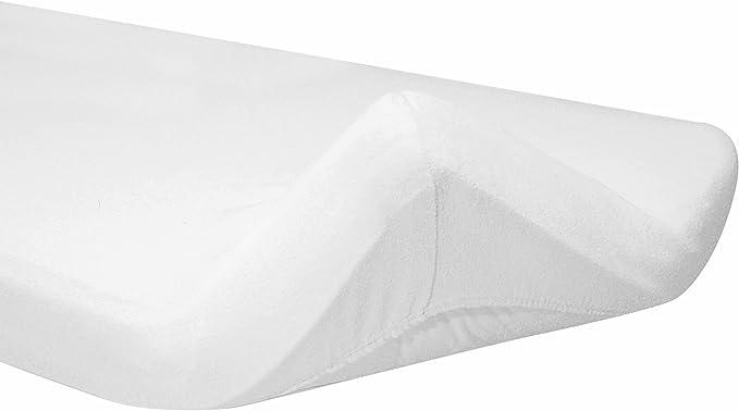 Bianco Italbaby 030.0020 Coprimaterasso in Spugna per Carrozzina