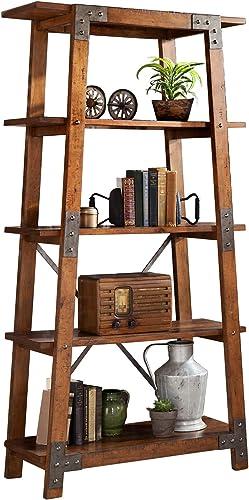 Cheap Homelegance Beechnut 4-Teir Bookcase modern bookcase for sale
