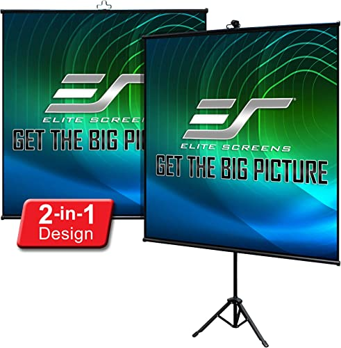 Elite Screens Tripod Lite Wall Series review