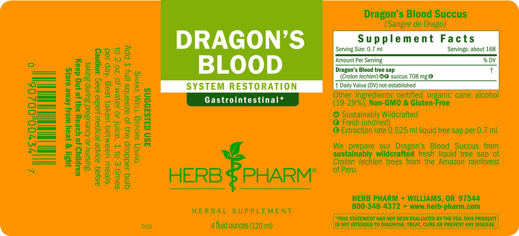 Herb Pharm Dragon's Blood (Sangre de Drago) Liquid Tree Sap for Digestive Support - 4 Ounce by Herb Pharm (Image #2)