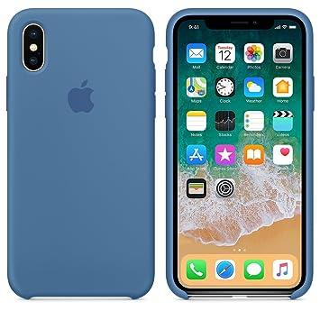 El último Verano Funda iPhone X, Slim Líquido de Silicona Gel Carcasa Anti-Rasguño y Resistente Huellas Dactilares Totalmente Protectora Caso Cover ...