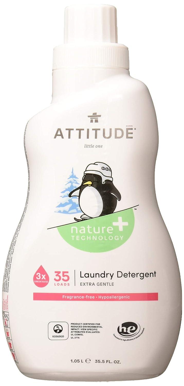 ATTITUDE Fragrance Free Laundry Detergent, 35.5 OZ