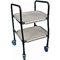 Aidapt - Carrito camarera con ruedas (altura ajustable)