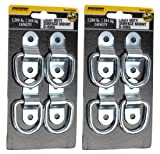 Pro Grip 822640 4 Pack Surface Mount Tie Down Ring
