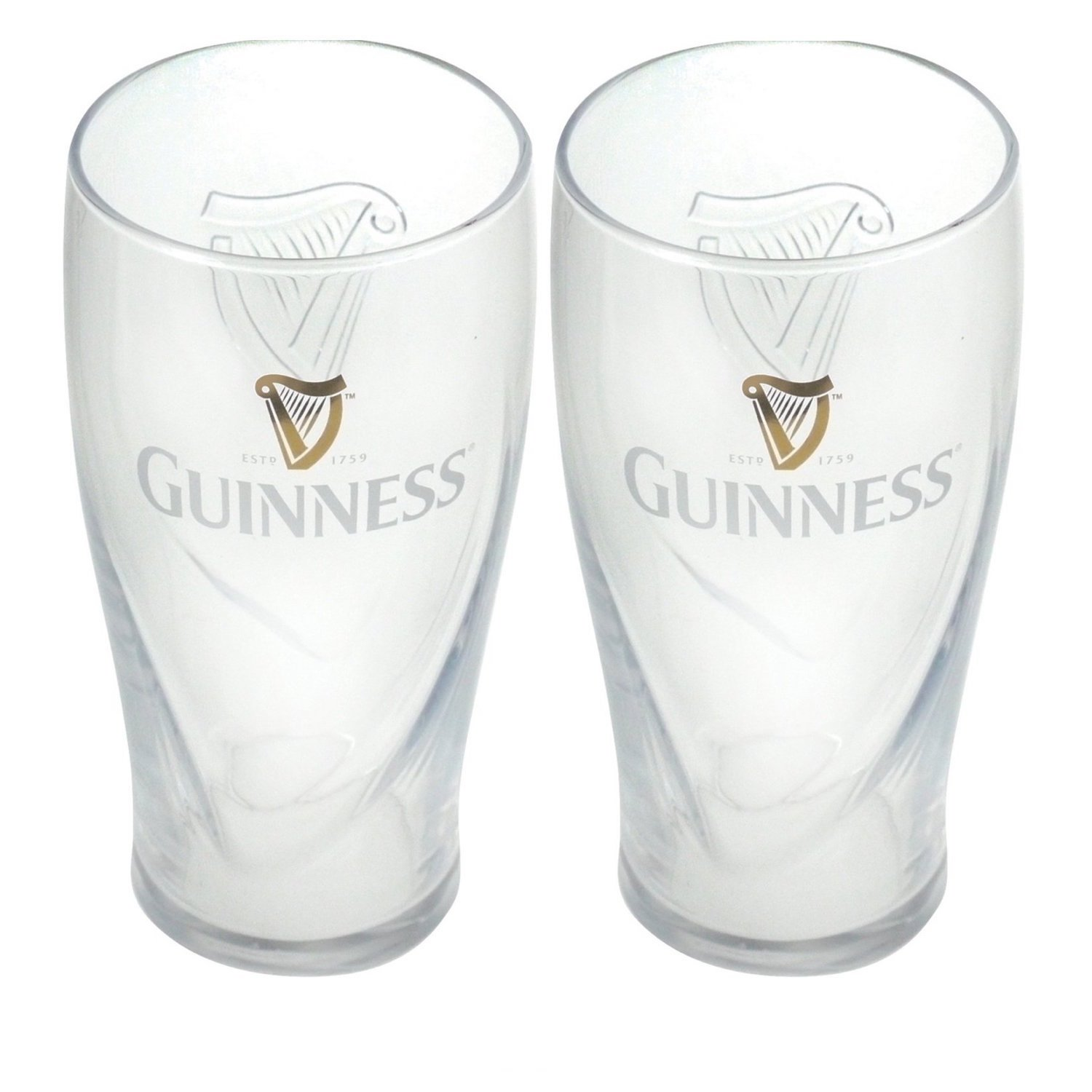 Guinness Gravity Pint Glass (2 Pack) 02643