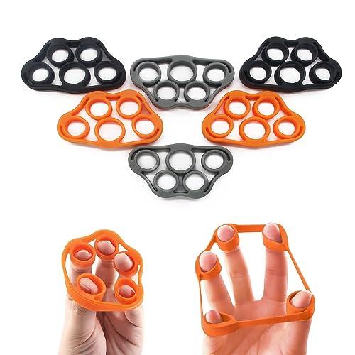 5BILLION Finger Stretcher Hand Resistance Band, 6 Pieces