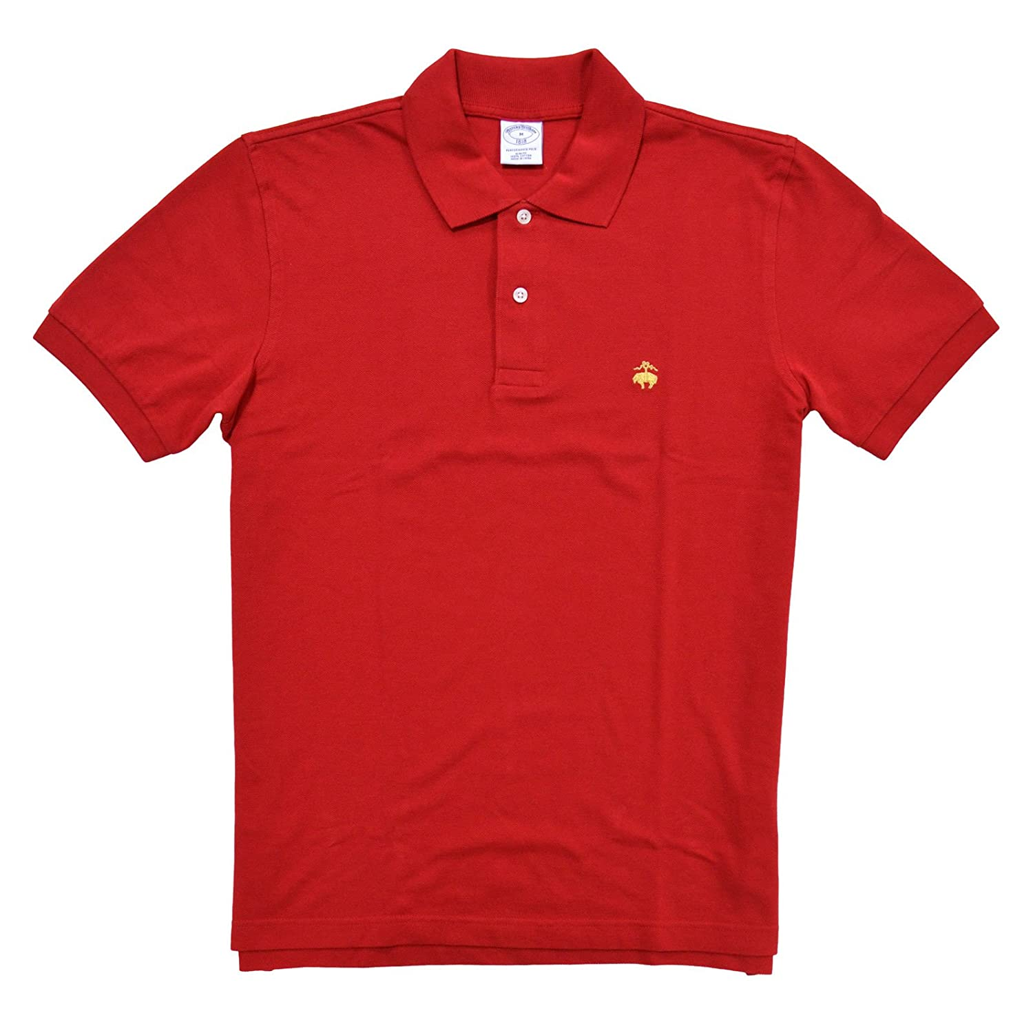 06f2f6815 Brooks Brothers Golden Fleece Slim Fit Performance Polo Shirt at Amazon  Men s Clothing store