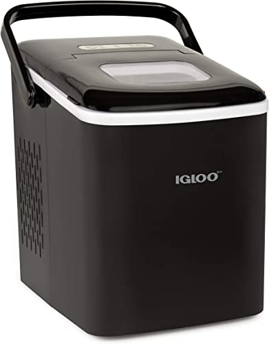 Igloo-ICEB26HNBK-Automatic-Self-Cleaning-Portable-Electric-Countertop-Ice-Maker