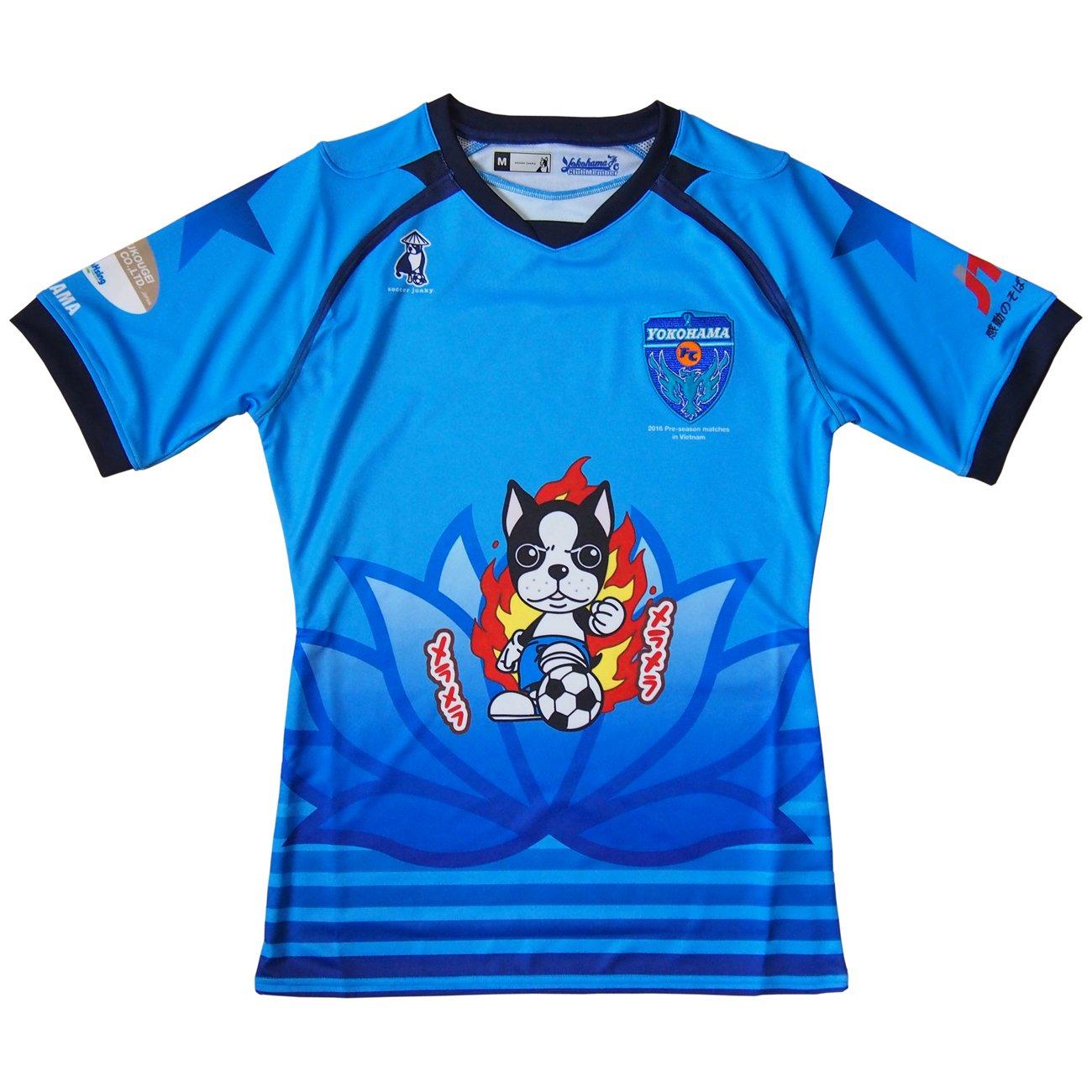 Soccer Junky(サッカージャンキー) 2016 横浜FC ベトナムキャンプ ユニフォーム ブルー YSJ16160-57 B01D81Q6FA O