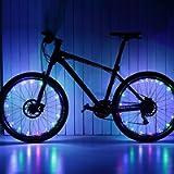 Keyian 1PSC LED Bike Wheel Lights Waterproof for Teens Kids Gifts