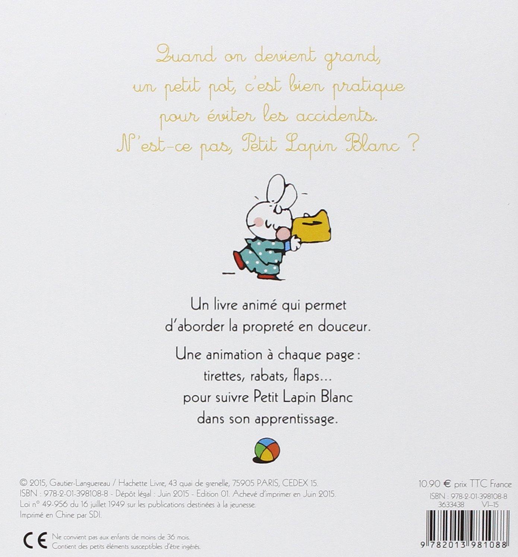 Petit Lapin Blanc Sur Le Pot Livre Anime Un Livre Anime