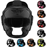 Elite Sports Boxing MMA Sparring Kickboxing Headgear for Men, Muay Thai Boxing Head Guard Helmet for Head Protection